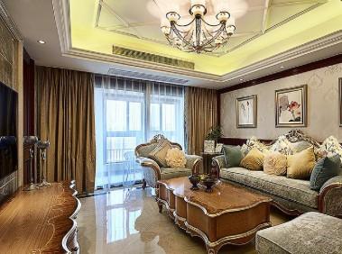 荆州120平新古典雅致3居室