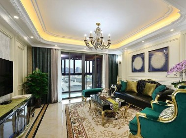 荆州163平法式新古典3居