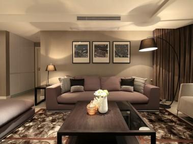 香格里拉现代前卫风格三房二厅设计