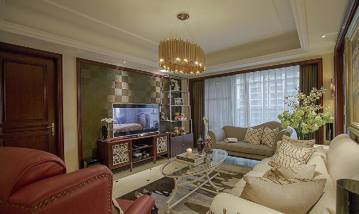 荆州126平欧式混搭3居   奢华舒适空间