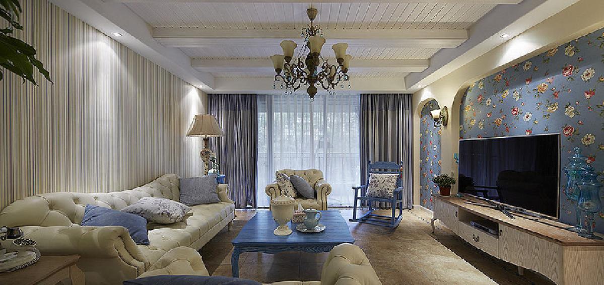 荆州107平地中海自然3居室   品质时尚