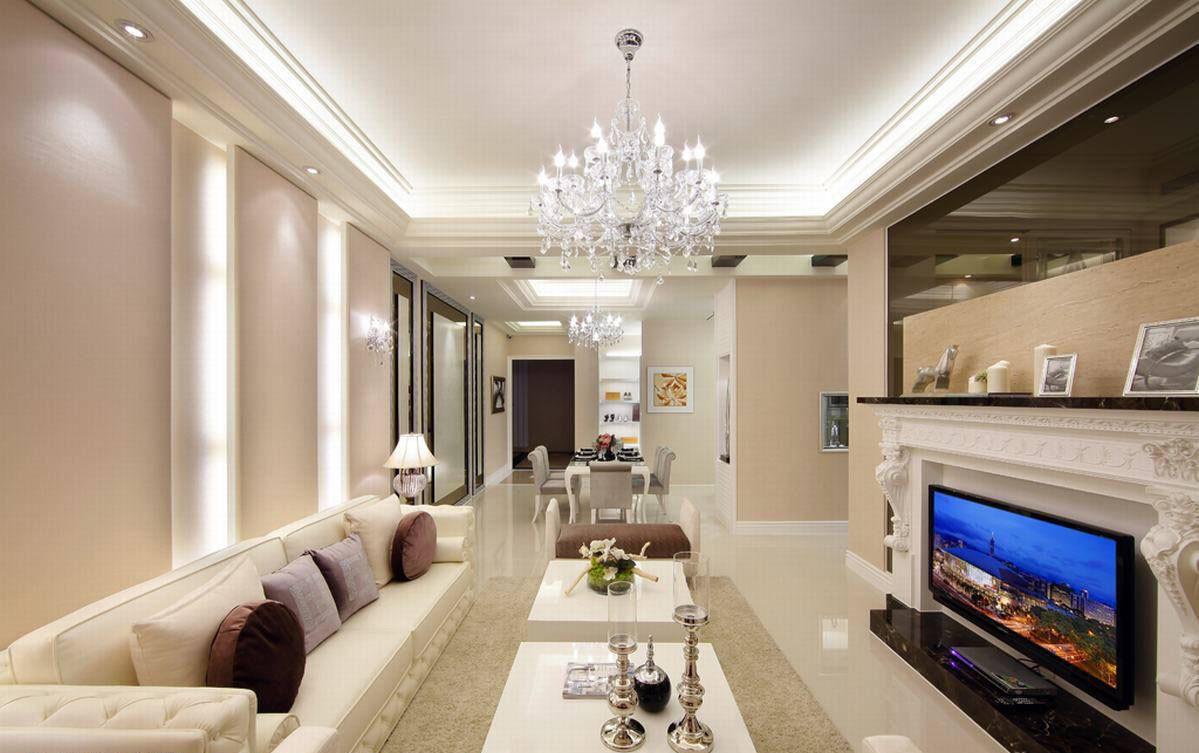 荆州欧式新古典居家四居   净白奢华