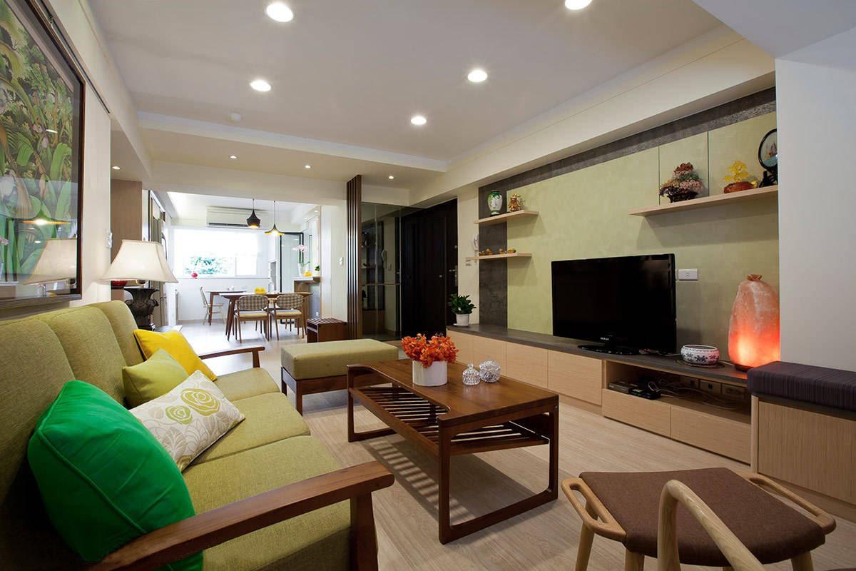 荆州125平休闲感十足的木质暖宅