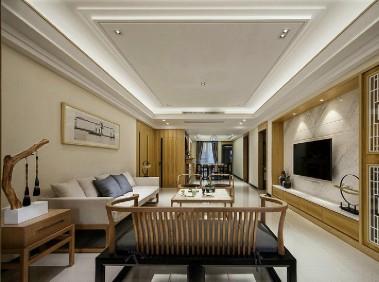 荆州106平新中式舒适3居室   淡雅时尚
