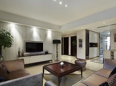 荆州112平现代简约3居室  时尚又温馨