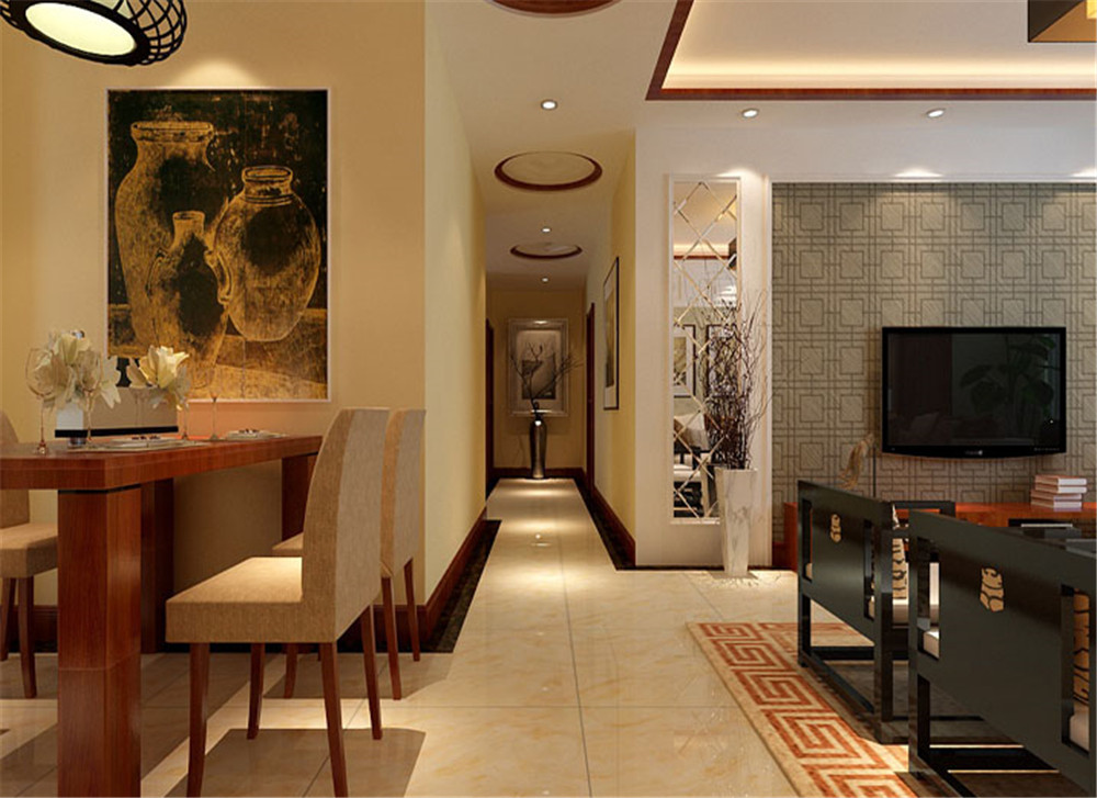 荆州140平新古典风格案例