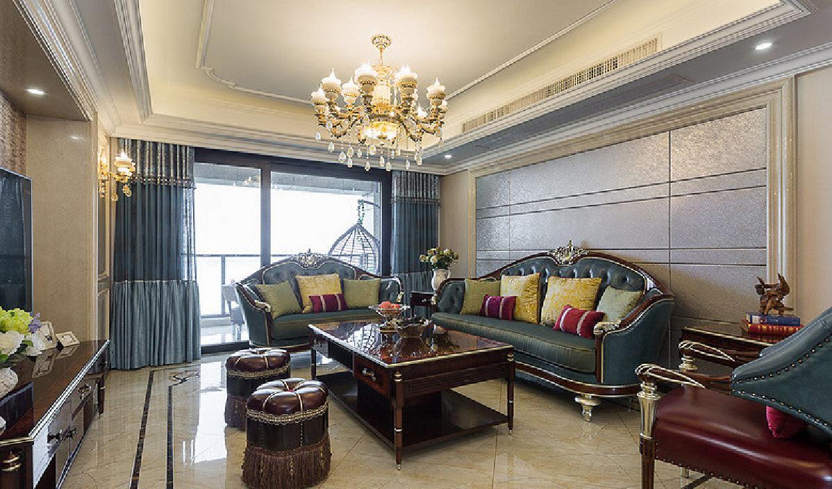 荆州130平欧式混搭3居    演绎舒适人居