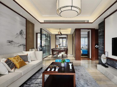 荆州146平新中式3居室   人文气息浓郁