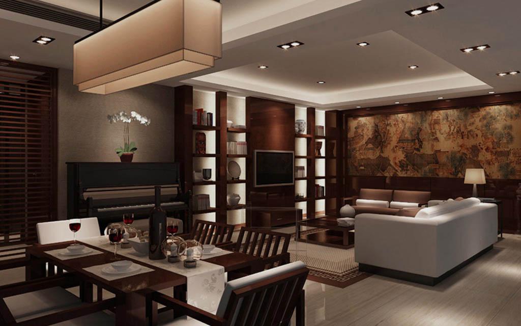 荆州装修设计中流行电视背景墙