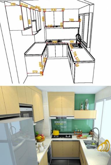 来看看你家的厨房该怎么设计!